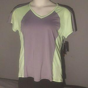 NWT RBX Active Women's Jacquard mesh Shirt